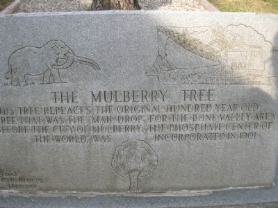 The Mulberry Tree Marker image. Click for full size.