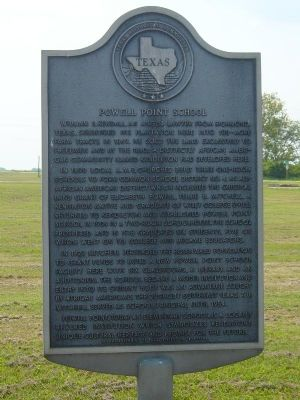 Powell Point School Marker image. Click for full size.