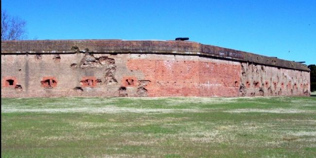 "Fort Pulaski wears its battle scars, as ""A Badge of Honor"" image. Click for full size."