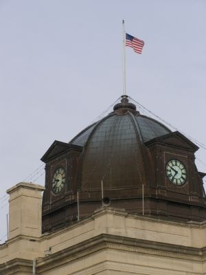 Courthouse dome image. Click for full size.