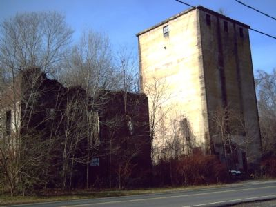 Ruins of Meyers & Brulle's Germania Flour Mill image. Click for full size.