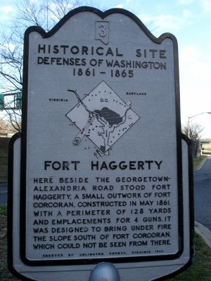 Fort Haggerty Marker image. Click for full size.