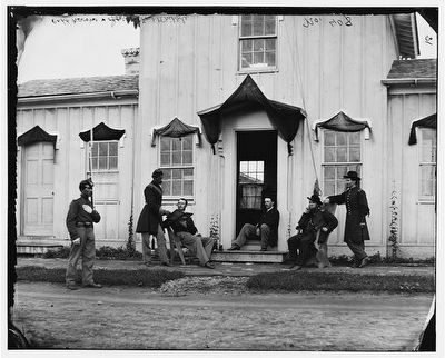 Headquarters Building at Fort Whipple image. Click for full size.