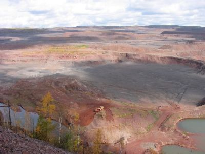 Nearby Open Pit Mine Photo, Click for full size