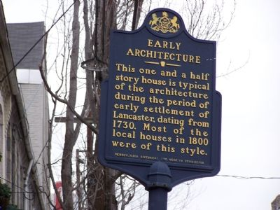 Early Architecture Marker image. Click for full size.
