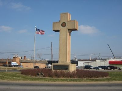West Side of Cross Photo, Click for full size