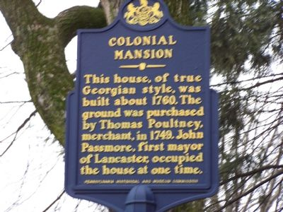 Colonial Mansion Marker image. Click for full size.