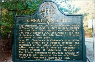 Cheatam Hill Marker image. Click for full size.