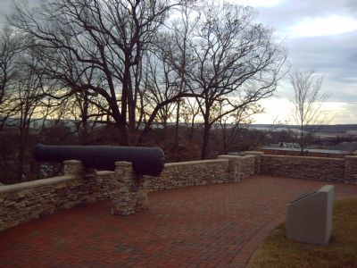 View of the Potomac River from the Marker image. Click for full size.