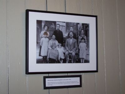 Sturgis Family Photo inside building. image. Click for full size.