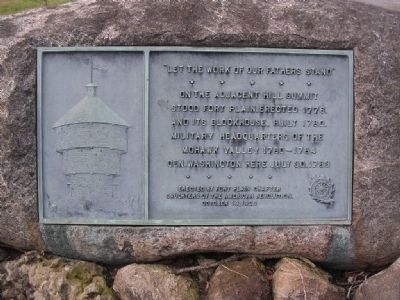 Fort Plain Plaque image. Click for full size.