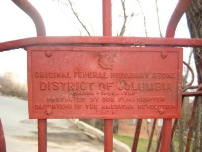Original Federal Boundary Stone NE 3 Marker image. Click for full size.