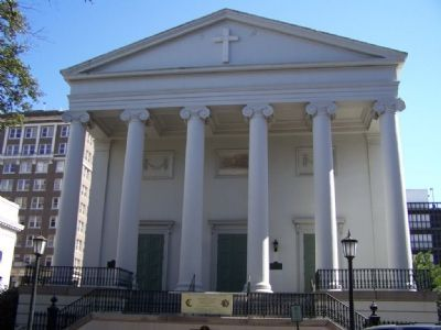 Christ Church at Johnson Square, Savannah image. Click for full size.