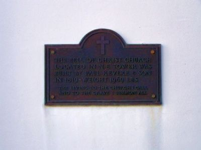 Plaque at left door image. Click for full size.