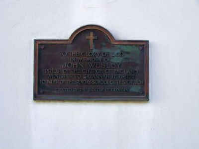 Plaque at center door image. Click for full size.