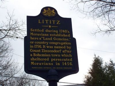 Lititz Marker image. Click for full size.