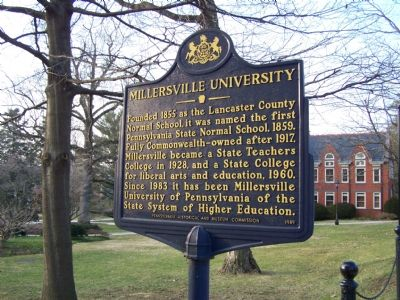 Millersville University Marker image. Click for full size.