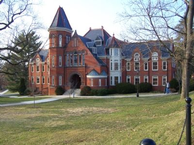 Main building at Millersville University image. Click for full size.