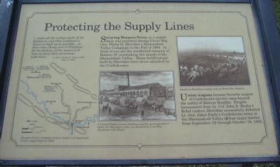 Protecting the Supply Lines Marker image. Click for full size.