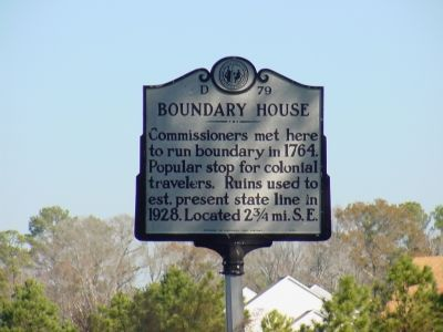 Boundary House Marker image. Click for full size.