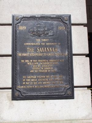 Plaque at City Hall image. Click for full size.