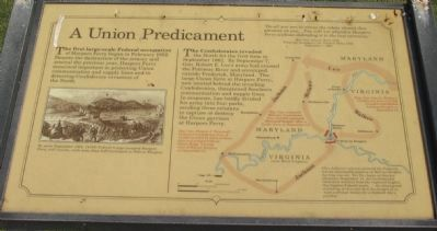 A Union Predicament Marker image. Click for full size.