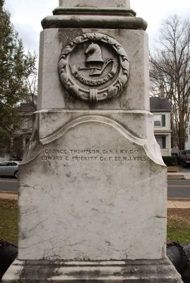 Mercer County, New Jersey Crest Photo, Click for full size