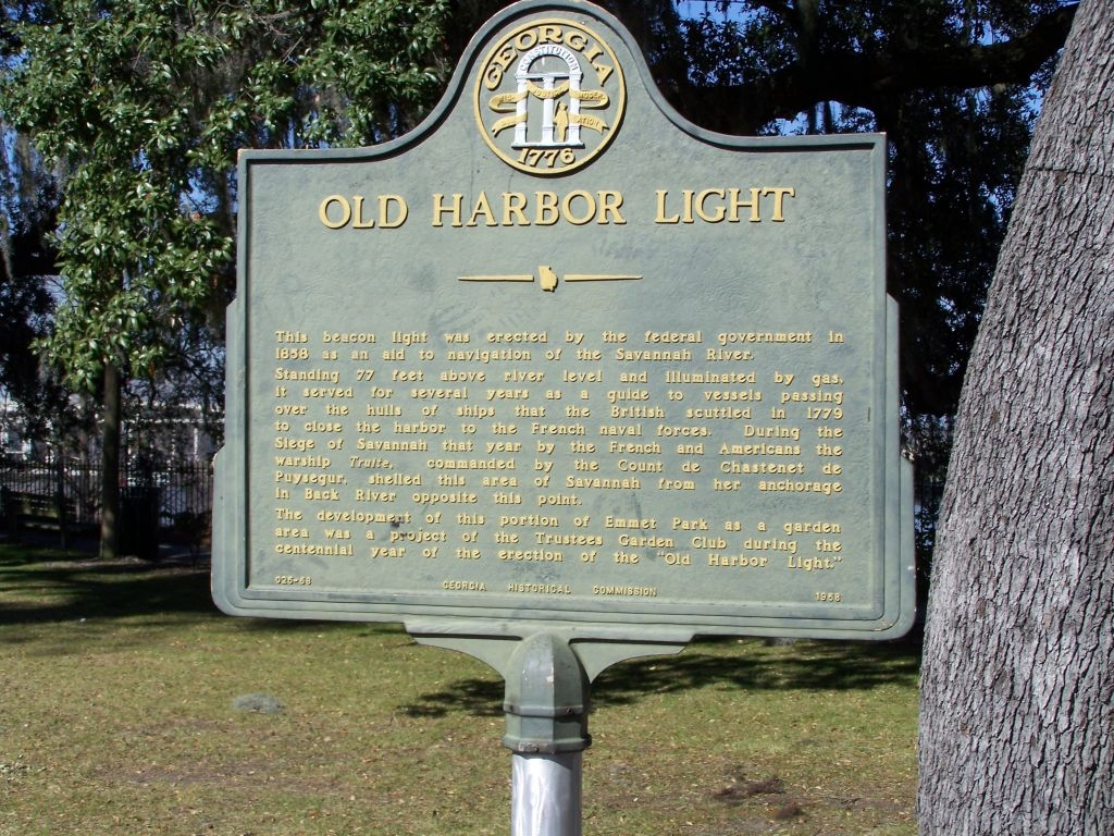 Old Harbor Light Marker