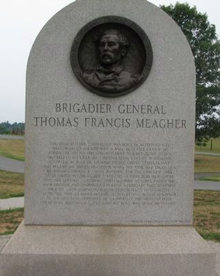 Rear Side of Irish Brigade Monument image. Click for full size.