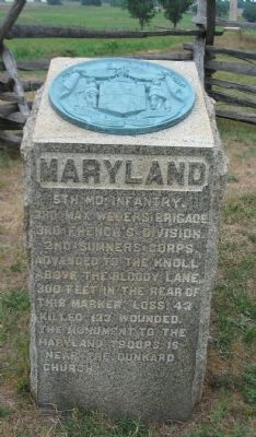 Maryland Marker image. Click for full size.