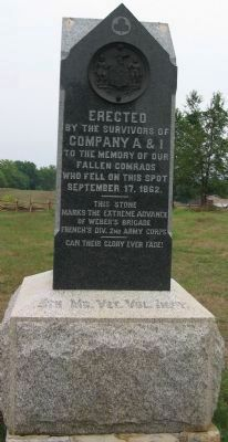 5th Md. Vet. Vol. Infy. Marker Photo, Click for full size