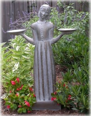 "The Bird Girl Statue from ""Midnight in the Garden of Good & Evil"" Photo, Click for full size"
