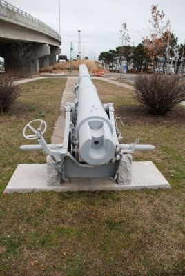 "Rear View of Cannon at ""Doughboy"" Park image. Click for full size."