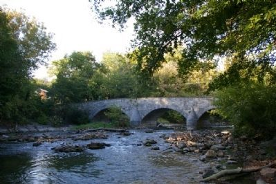 View of the bridge from downstream Photo, Click for full size