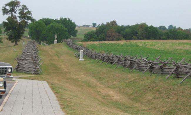 The Federal Penetration of the Sunken Road image. Click for full size.
