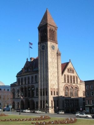 Albany's City Hall image. Click for full size.
