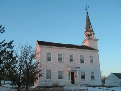 The Circa 1793 Church in Duanesburg image. Click for full size.