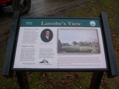 Latrobe's View Marker image. Click for full size.