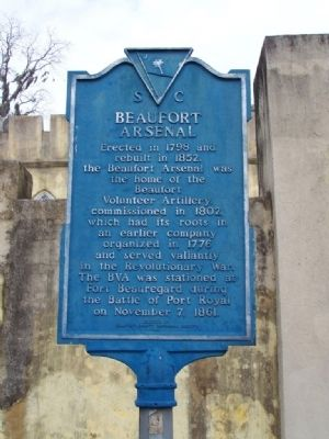 Beaufort Arsenal Marker image. Click for full size.