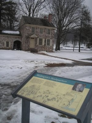Washington's Headquarters at Valley Forge image. Click for full size.