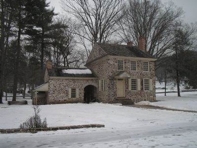 Valley Forge Headquarters image. Click for full size.