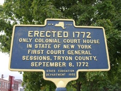 Court House in Fulton County, New York image. Click for full size.