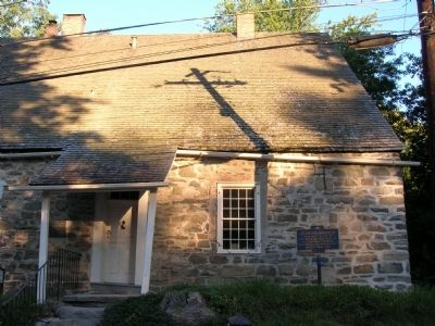 Jean Hasbrouck House in New Paltz, New York image. Click for full size.