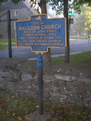 Walloon Church Marker Photo, Click for full size