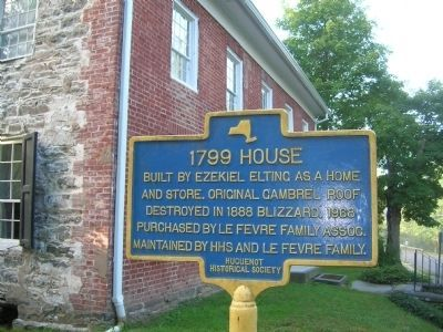 1799 House Marker image. Click for full size.
