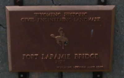 Civil Engineering Landmark Plaque image. Click for full size.