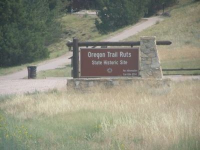 Oregon Trail Ruts State Historic Site Photo, Click for full size
