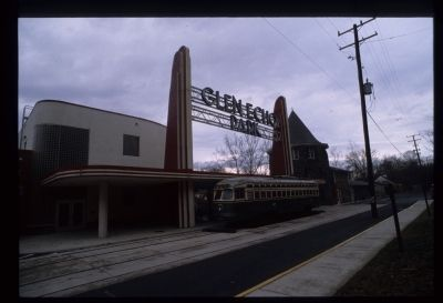 Entrance to Glen Echo Park Photo, Click for full size