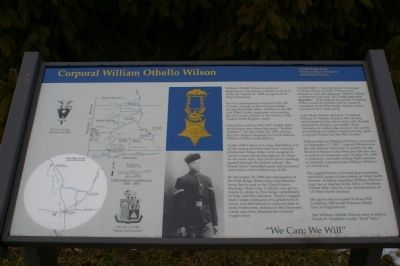 Corporal William Othello Wilson Marker image. Click for full size.