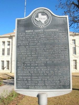 Medina County Courthouse Marker image. Click for full size.